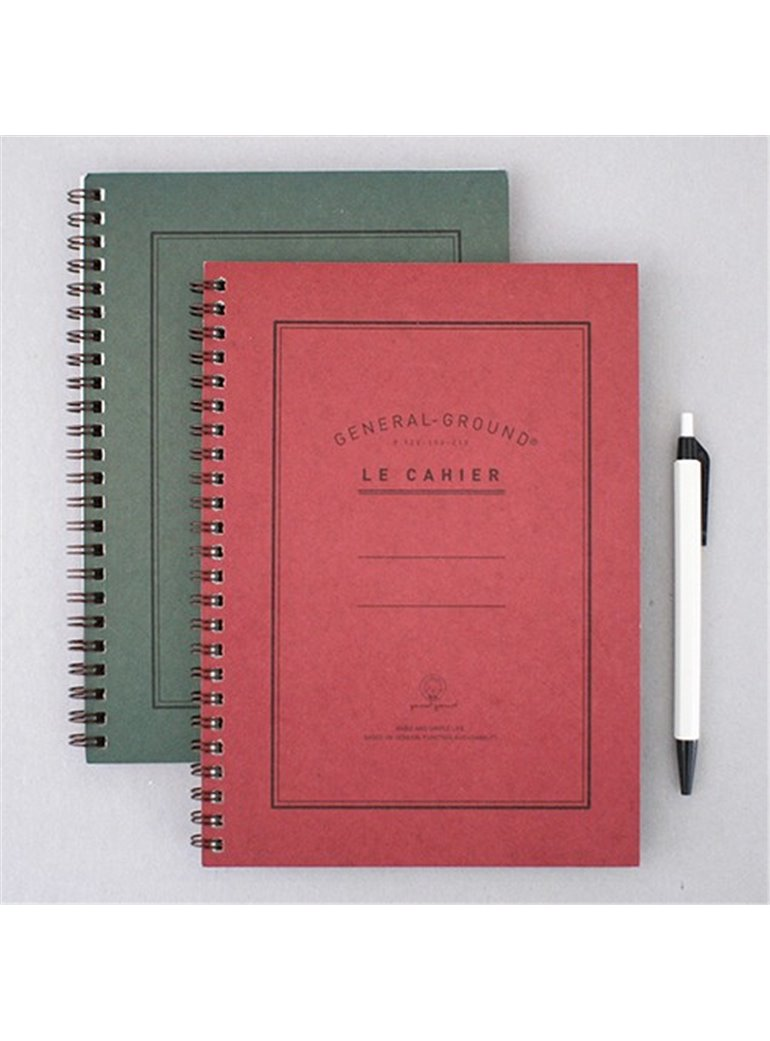 NOTEBOOK General-ground red