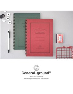 NOTEBOOK General-ground red