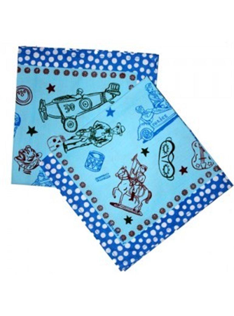 NATHALIE LÉTÈ blue scarf
