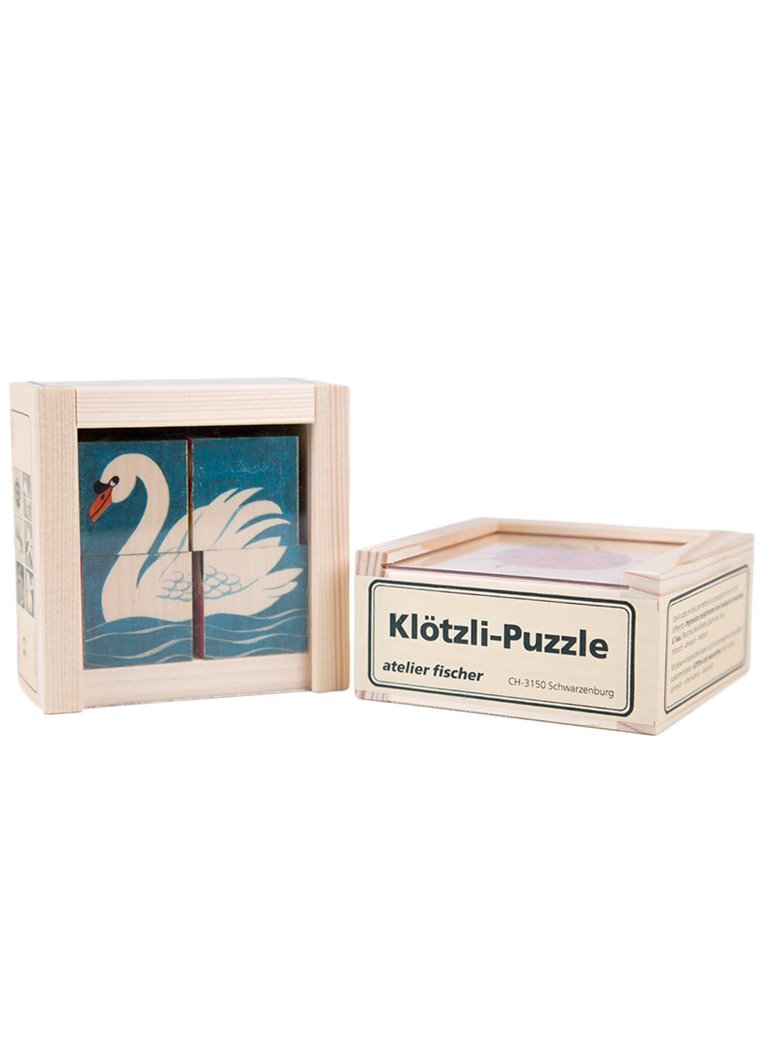Puzzle cubos animales