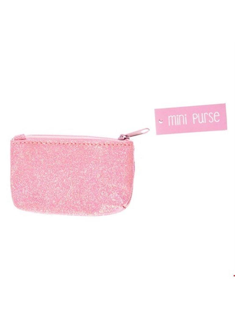 PINK GLITTER mini purse