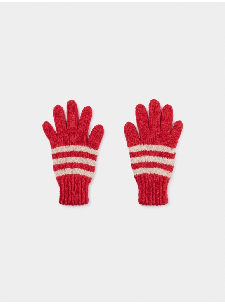 BOBO CHOSES Striped Gloves