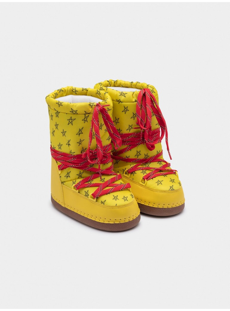 BOBO CHOSES Yellow Cosmo Boots