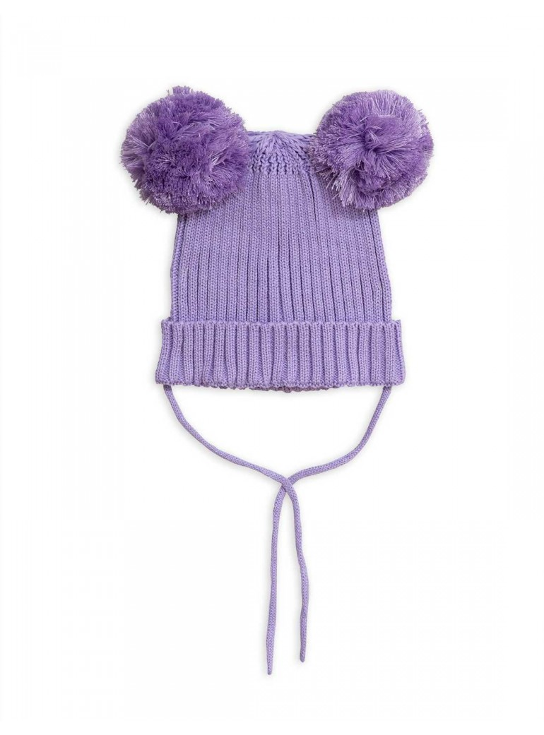MINI RODINI Purple ear hat