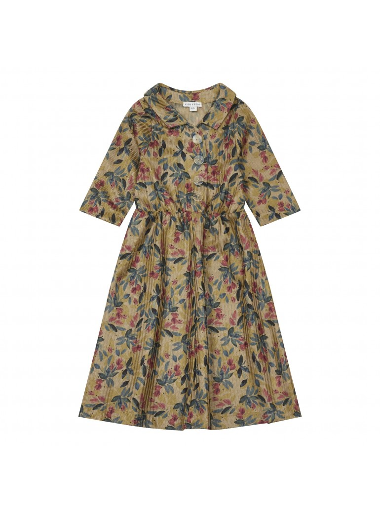 FISH&KIDS Farmer Flower dress