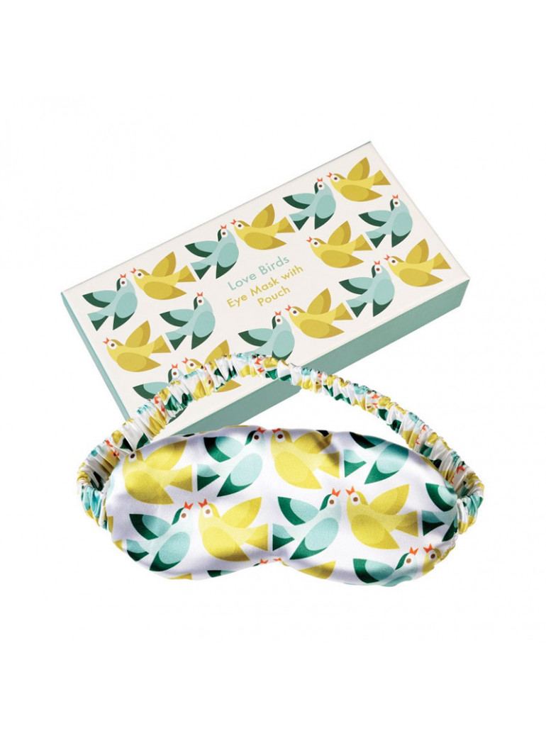 Eye Mask With Pouch - Love...