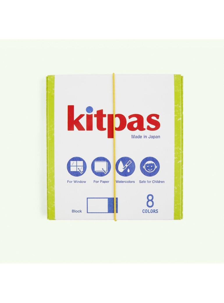 KITPAS Block Crayon - 8 colors