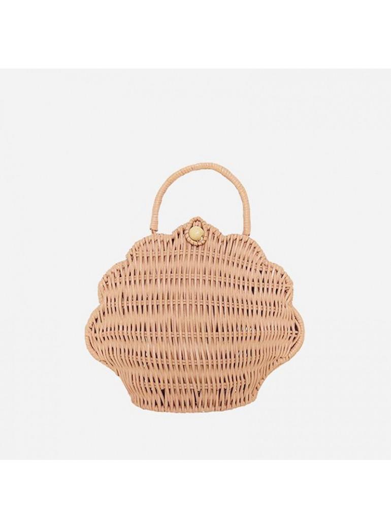 Olli Ella | Rattan Shell Bag