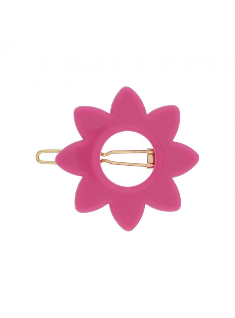 KANEL Anna Hairclip I Hot Pink