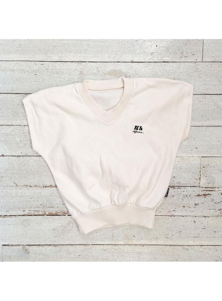 VINTAGE Girl V-Neck Sweater...