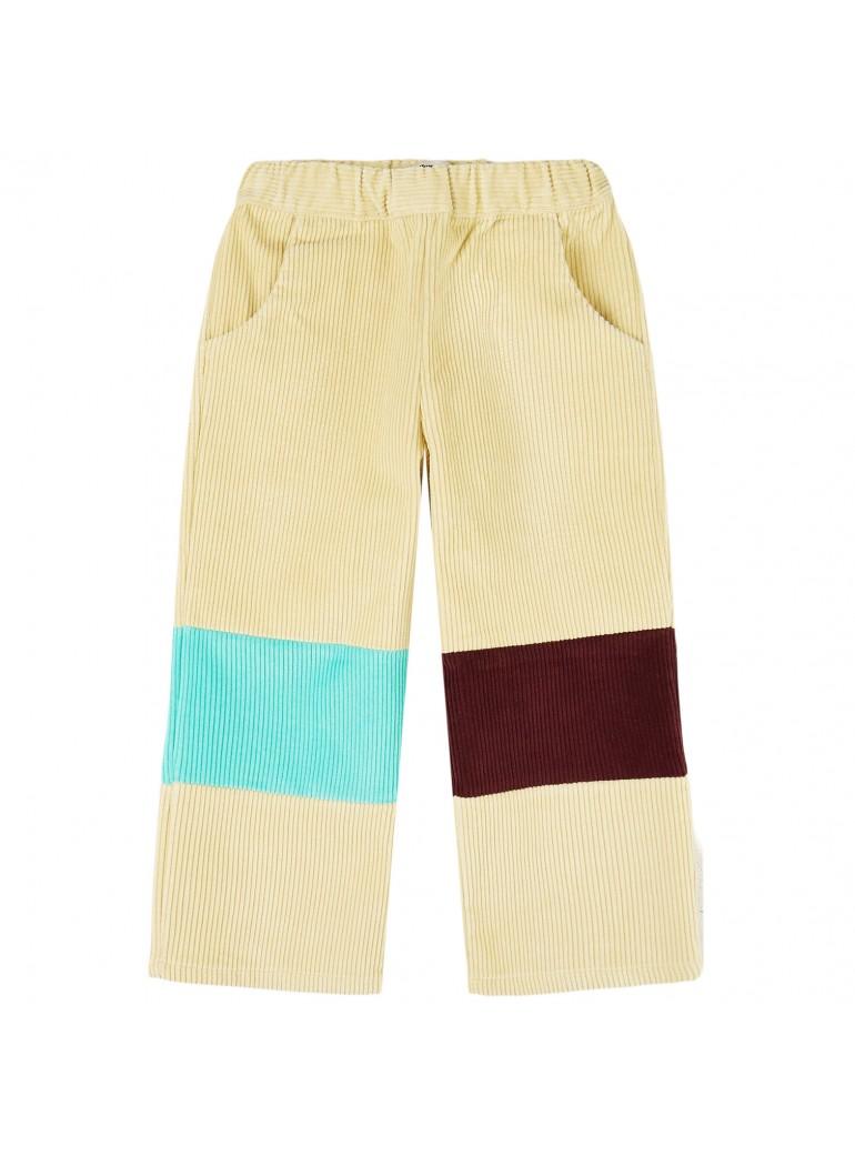 YELLOW PELOTA Patchwork pants