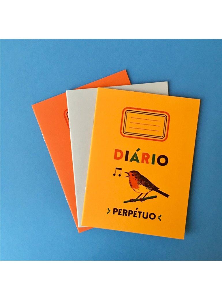 DIÁRIO Perpetuo Amarillo